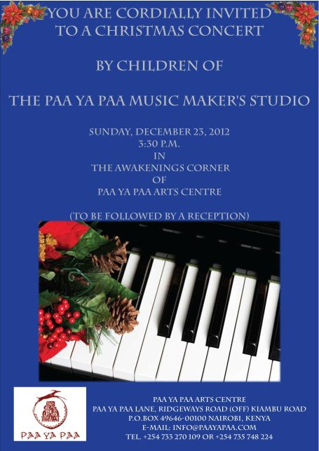 Paa Ya Paa Music Maker's Christmas-1
