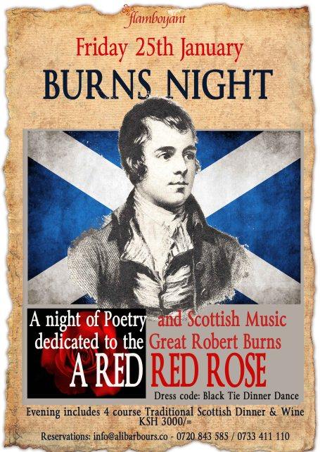 BURNS NIGHT at Flamboyant LR