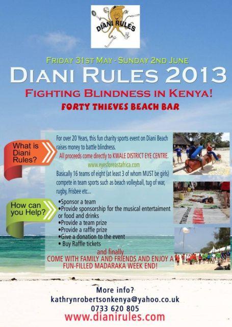 Diani Rules 2013