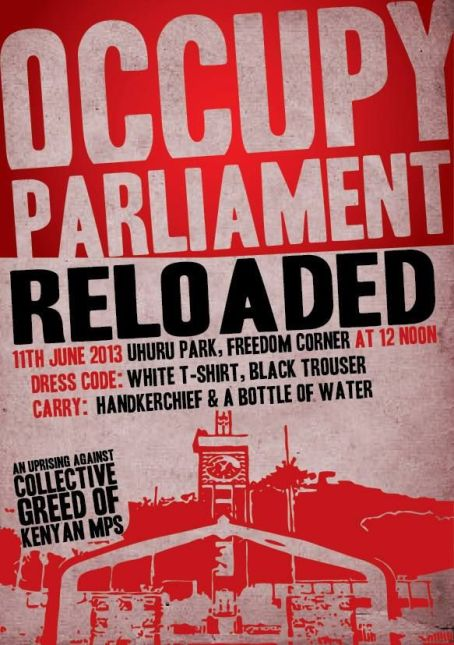 Occupy Parliament Reloaded