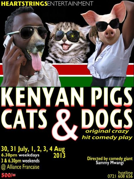 Kenyan Pigs, Cats & Dogs