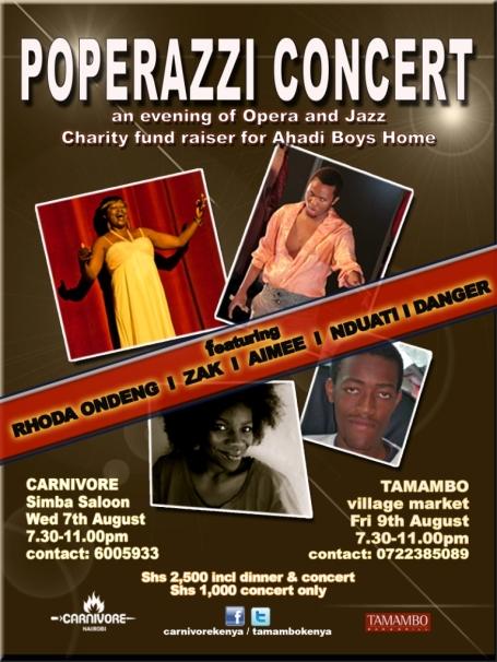 Poperrazi Concert