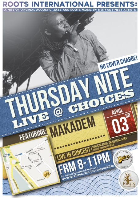 Makadem April 3 2014 TNL Flyer