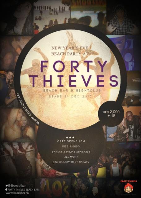 40 thieves NYE
